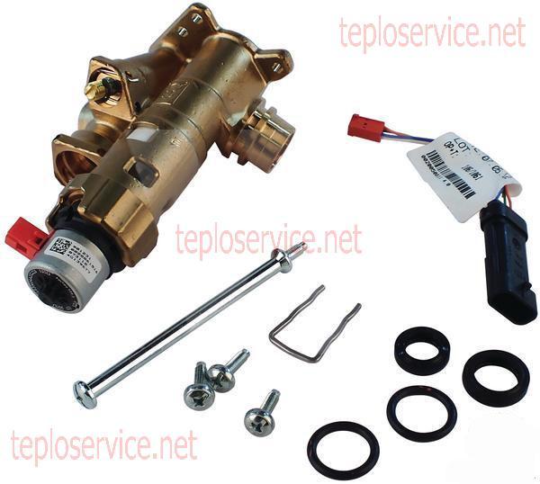 электропривод (сервопривод трехходового клапана vaillant atmotec pro фото
