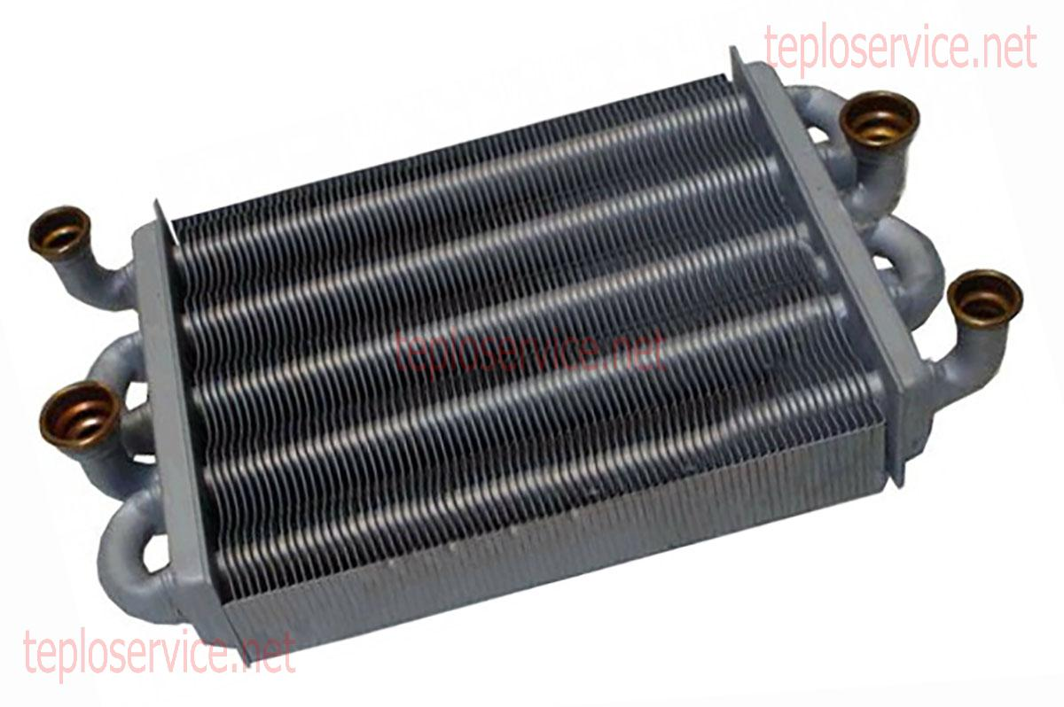 Битермический и раздельный теплообменник для газовых котлов прокладка теплообменника scania dc12.17