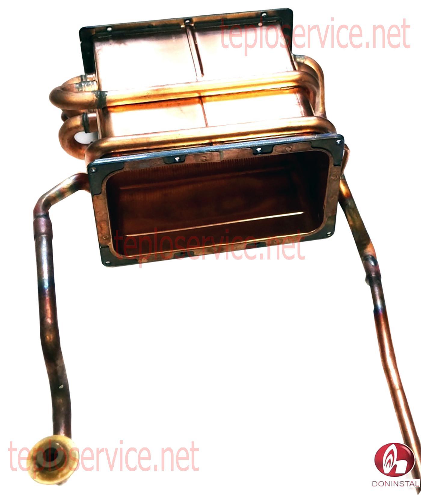 теплообменник в котле на твердом топливе